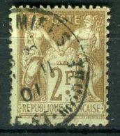 FRANCE ( POSTE ) : Y&T  N°  105  TIMBRE  TYPE  SAGE ,  OBLITERE ,  A  VOIR