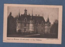 37 INDRE & LOIRE - IMAGE LA QUINTONINE - AZAY LE RIDEAU - LE CHÂTEAU - HELIO COMBIER MACON - Cromo