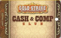 Gold Strike Casino Jean, NV - Slot Card  (BLANK) - Casino Cards