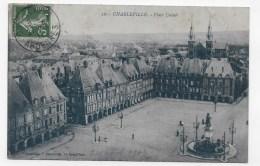 CHARLEVILLE EN 1911 - N° 22 - PLACE DUCALE - BEAU CACHET - CPA VOYAGEE - Charleville