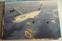 AIRLINE ISSUE / CARTE COMPAGNIE    FINNAIR   A 340 - 1946-....: Ere Moderne