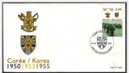 Belgio/Belgium/Belgique - FDC - Guerra Di Corea, Korean War, Guerre De Corée - Histoire