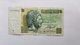 TUNISIA 5 DINARS 1993 - Tunisia