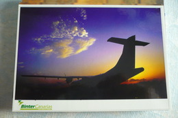 AIRLINE ISSUE / CARTE COMPAGNIE     BINTER CANARIAS   ATR - 1946-....: Ere Moderne