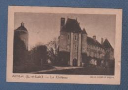 28 EURE ET LOIR - IMAGE LA QUINTONINE - AUNEAU - LE CHÂTEAU - HELIO COMBIER MACON - Cromo