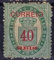 MACAU - 1887  - AFINSA Nº 31 - Pequenos Pontos De Oxido - Nuevos