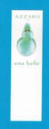 Cartes Parfumées  Carte  EAU BELLE  De AZZARO - Perfume Cards