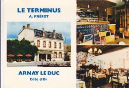 CPSM   ARNAY LE DUC 21  Le Terminus - Arnay Le Duc