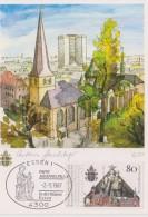 Carte Maximum 1987 ESSEN 1 Pape Jean Paul II - Allemagne Fédérale - Cartes-Maximum (CM)