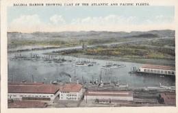 Amérique - Panama - Balboa Harbor - US Navy - Marine De Guerre Américaine - Bâteaux - Chemins De Fer - Panama