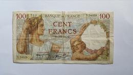 FRANCIA 100 FRANCS 1941 - 100 F 1939-1942 ''Sully''