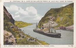 Amérique - Panama - Paquebot - El Cristobal En El Corte De Gaillard - Canal De Panama - Edicion Maduro - Panama
