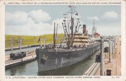 Amérique - Panama - Paquebot - El Cristobal Saliendo Recamara - Ecluse De Gatun - Canal De Panama - Edicion Maduro - Panama