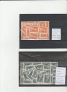 TIMBRE DE TURQUIE NEUF ** NR 695**-696** EN MULTIPLE 1926 COTE   15.55€ - Neufs