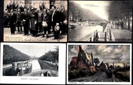 4 X BELLE CARTE CHARLEROI - Entrée Chasseurs - Quai Brabant -Vue Par Paulus - - Charleroi