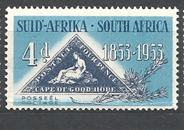 Sud Africa  - 1953 The 100th Anniversary Of The First Cape Of Good Hope Stamps MNH - Sud Africa (...-1961)