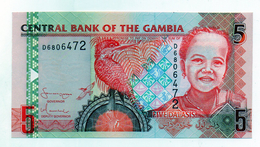 Gambia - Banconota Da 5 Dalasi - Nuova -  (FDC1524) - Gambia