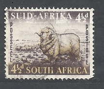 Sud Africa  -1953 Local Motives    Used    The Sheep (Ovis Aries) Pecora - Sud Africa (...-1961)