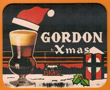 Ac-Sous Verres (bocks) Gordon Xmas - Beer Mats