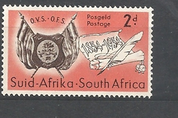 Sud Africa  -1954 The 100th Anniversary Of The Founding Of Orange Free State  MNH - Sud Africa (...-1961)