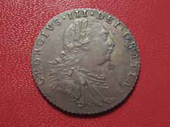 Grande-Bretagne - UK - 6 Pence 1787 - Sans Coeurs Dans L'armoierie Des Hanovre 0741 - 1816-1901 : Frappes XIX° S.