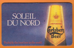 Ac-Sous Verres (bocks) Carlsberg Beer - Portavasos