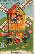 14-trouville-carte A Systeme-de Mon Joli Moulin Vous Verrez... - Trouville