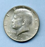 1968 1/2 DOLLAR SILVER - Federal Issues