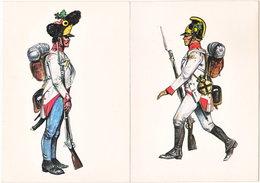 Gf. Autriche 1805. Grenadier Et Fantassin - Uniforms