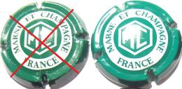 Marne & Champagne N°6, Vert Vif & Blanc - Champagne
