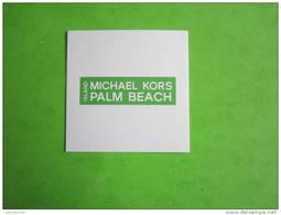 KORS MICHAEL  - Carte Parfumée - Modern (from 1961)
