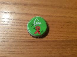 """Capsule De Soda * """"GINI (ruban SIDA)"""" Belgique C - Soda"""