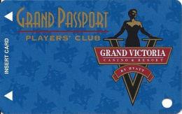 Grand Victoria Casino Rising Sun, IN Slot Card  (BLANK) - Casino Cards