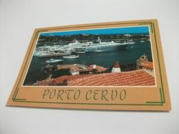 NAVE SHIP YACHT PANFILO PORTO CERVO SARDEGNA - Chiatte, Barconi