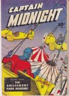 Captain Midnight N° 25 ,octobre 1944, 2 Scans - Marvel