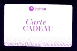 Carte Cadeau  Marionnaud Institut.   Gift Card. - Gift Cards