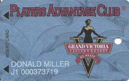 Grand Victoria Casino Rising Sun, IN Slot Card - Graphics Controls LLC Over Mag Stripe - Casino Cards