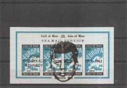 Kennedy ( BF Privé Non Dentelé XXX -MNh- De Calf Of Man ) - Kennedy (John F.)