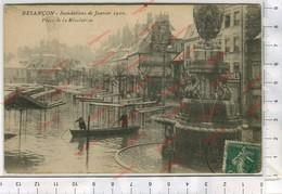 CP - Besançon - Innondations De Janvier 1910 - Place De La Révolution - Besancon
