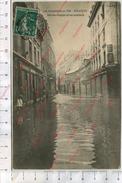 CP - Besançon - Innondations De Janvier 1910 - Rue Des Granges Et Rue Gambetta - Besancon