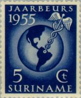 Suriname 1955 Jaarbeurs Te Paramaribo - NVPH 323 MNH** Postfris - Suriname ... - 1975