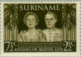 Suriname 1955 Koninklijk Bezoek - NVPH 324 MNH** Postfris - Suriname ... - 1975