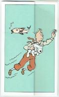 Hergé. Publicité BASF. Carte Tintin & Milou & Planche De Phylactères Autocollants - Postcards