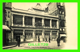 PARIS (75) - ÉDIFICE, LES FOLIES BERGÈRES - ANIMÉE - DOS NON DIVISÉ - - Other Monuments
