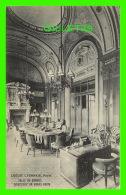 PARIS (75) - ÉDIFICE DU CRÉDIT LYONNAIS - SALLE DU CONSEIL - E. LE DELEY - - Other Monuments