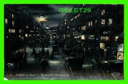 PARIS (75) - LA NUIT,  BOULEVARD MONTMARTRE  - E. L. D. - - Paris By Night
