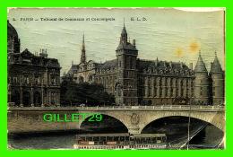 PARIS (75) - TRIBUNAL DE COMMERCE ET CONCIERGERIE - E. L. D. - DOS 3/4 - - Other Monuments