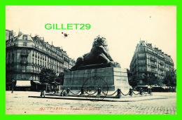 PARIS (75) - MONUMENT LE LION DE BELFORT - CIRCULÉE EN 1908 - C. F. - - Other Monuments