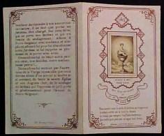 Image Pieuse XIX° JESUS BEBE Sur CALICE , VENEZ A MOI , Riches Ors Livret , Old HOLY CARD - Devotion Images