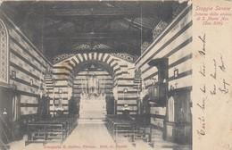 Staggia Senese-interno Chiesa Di S.maria      1900 - Siena
